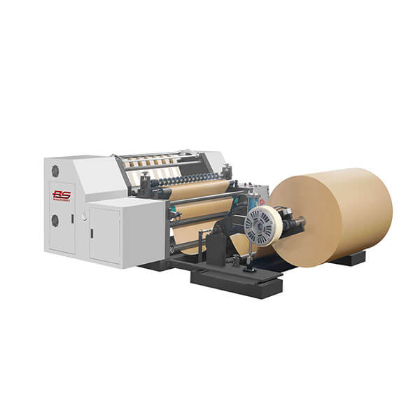 Paper Bag Slitting Rewinding Machine