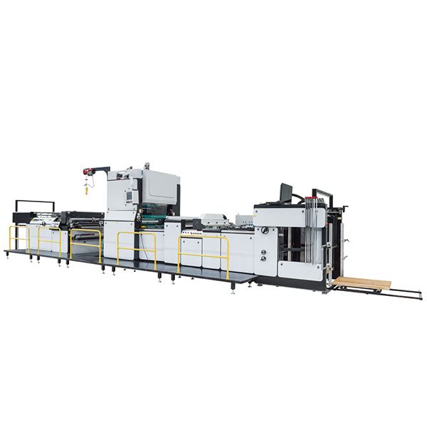ZFM-1080C Automatic Lamination Machine With Chain Cutter and Powder Remover
